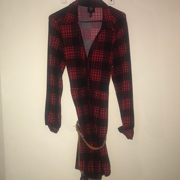 a2f9542066f4 Derek Heart Dresses | Tj Maxx Red Black Plaid Dress | Poshmark